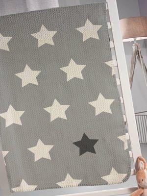 Κουβέρτα Παιδική 160x220 Saint Clair Pirineo Grey