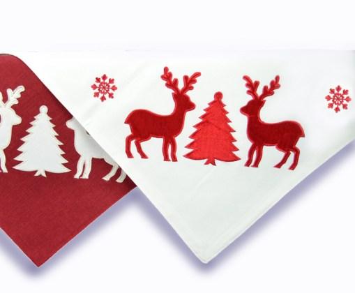 τραπεζοκαρε-χριστουγεννιάτικο-100χ100-ελαφια-white-2