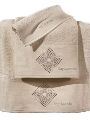 Πετσέτες Σετ 3 Τεμαχίων Guy Laroche Nova Sand