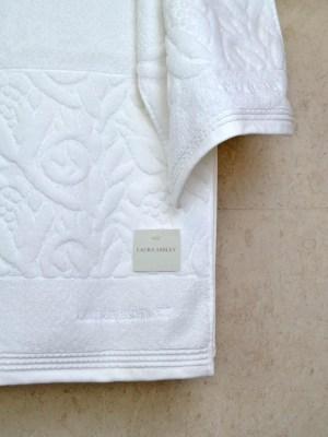 Πετσέτες Σετ τριών τεμαχίων LAURA ASHLEY Tulip White