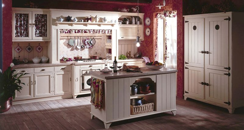 Lunghi massimo 120 cm (130 cm nel caso di un tavolo rotondo), 18 tavoli piccoli da. Regole Per Arredare Una Cucina Dal Gusto Country