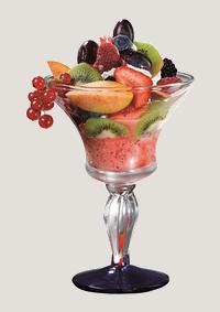 Frucht Becher
