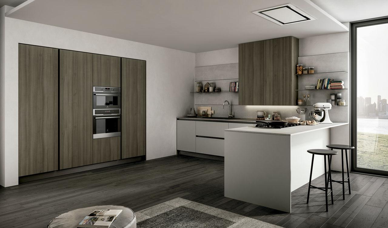 Modern Kitchen Arredo3 Cloe Model 4