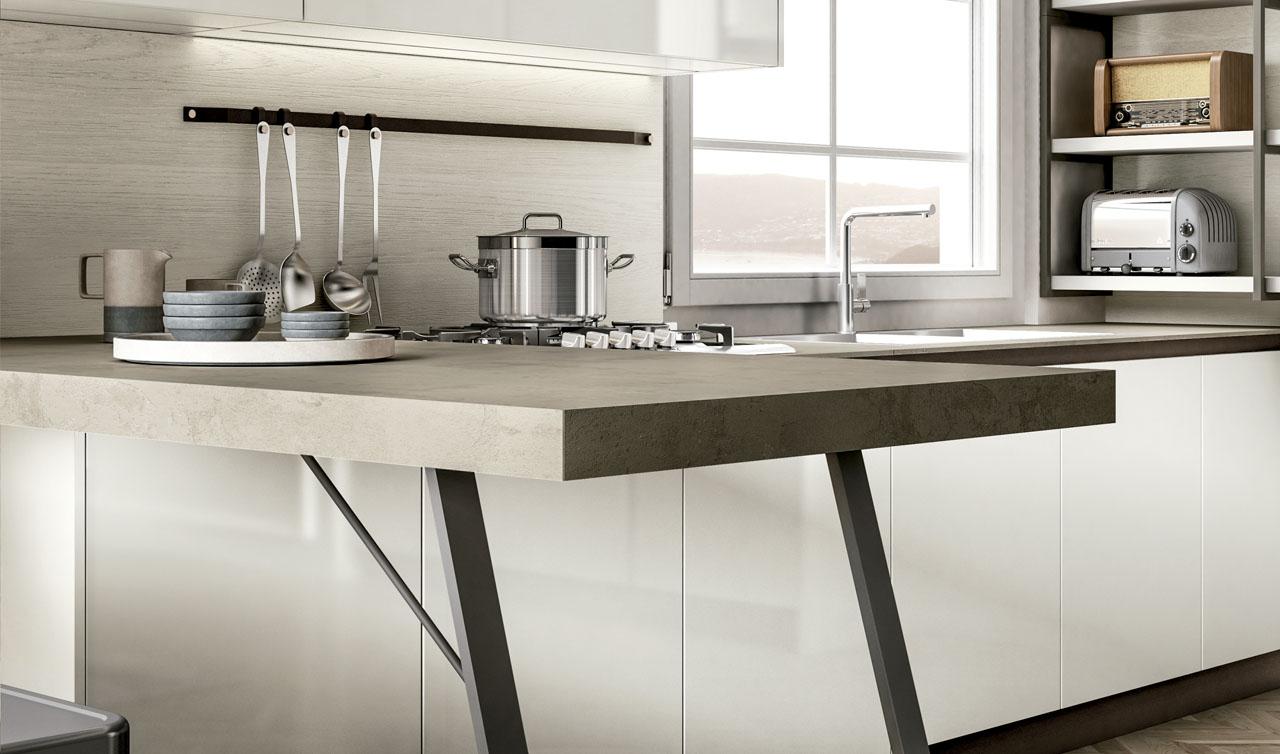 Modern Kitchen Arredo3 Cloe Model 5