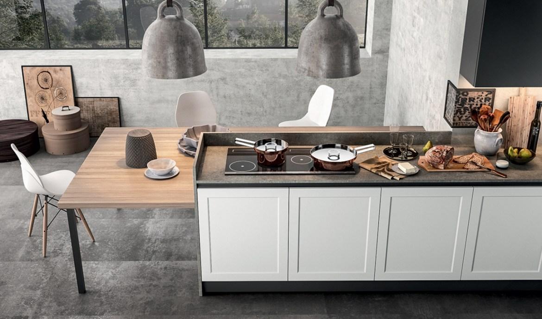 Cocina Moderna Arredo3 Frame Modelo 01 - 04