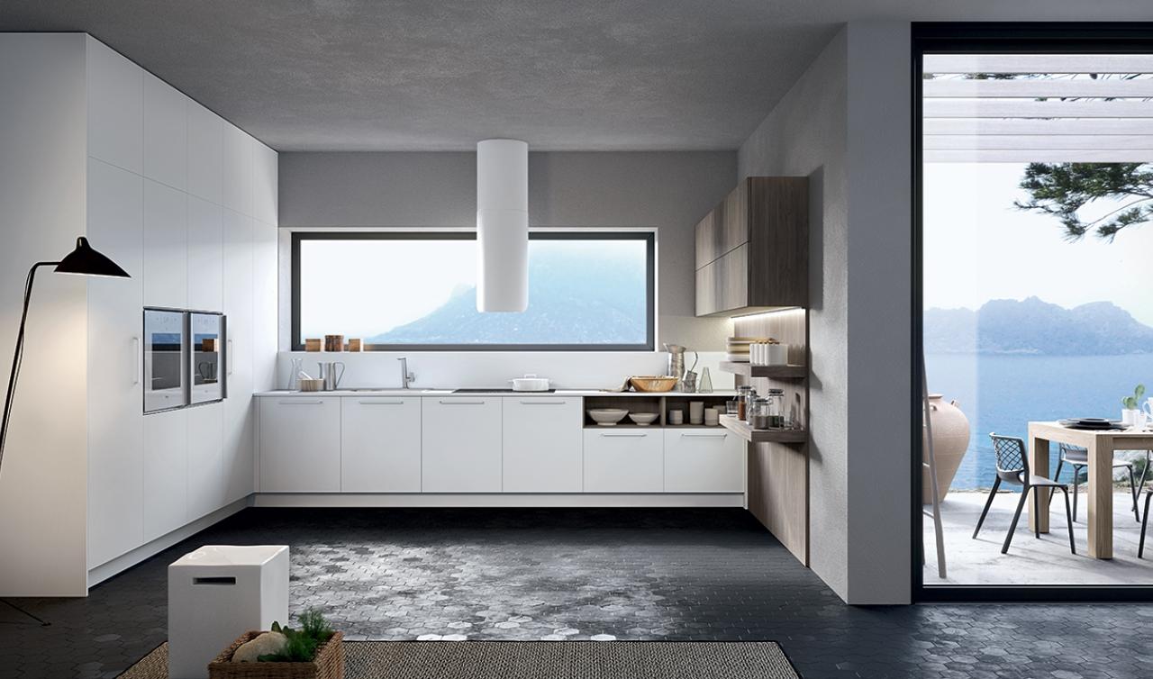 Modern Kitchen Arredo3 Round Model 02