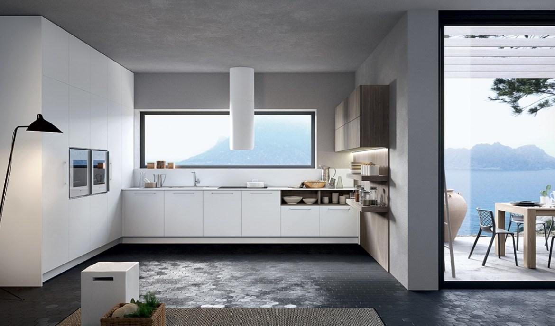 Modern Kitchen Arredo3 Round Model 02 - 01