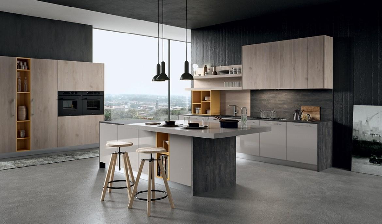 Modern Kitchen Arredo3 Round Model 04 - 01