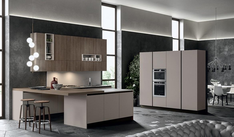 Modern Kitchen Arredo3 Round Model 05 - 01