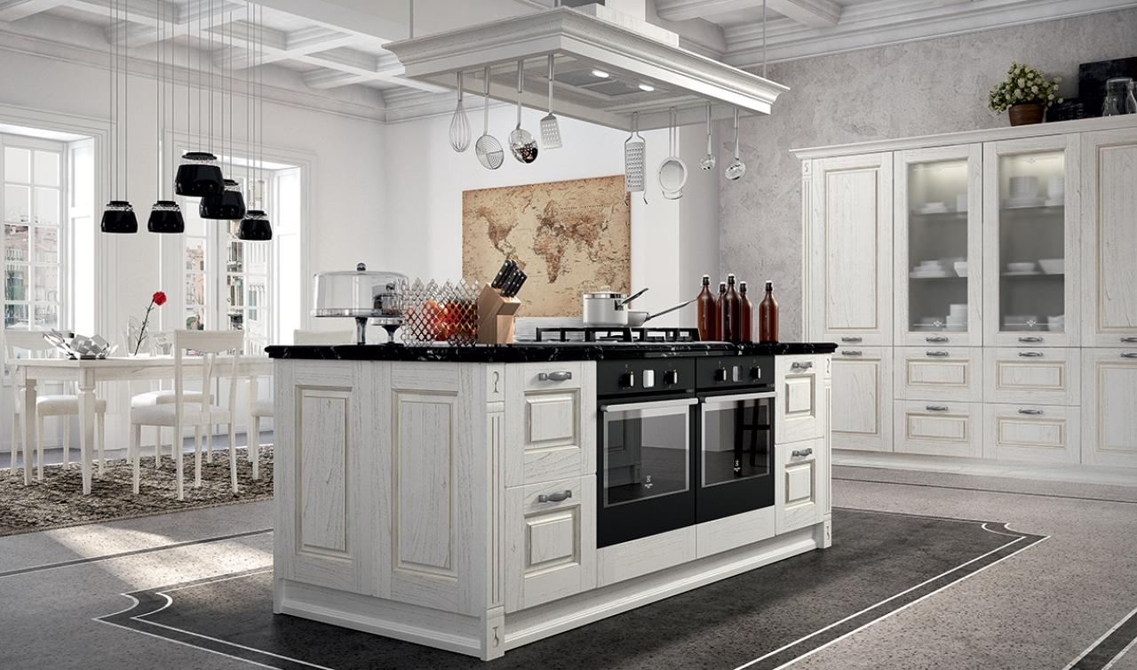 Cocina Clásica Arredo3 Verona Modelo 01