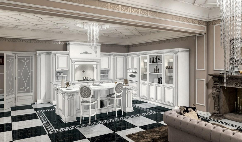 Classic Kitchen Arredo3 Viktoria Model 01 - 01