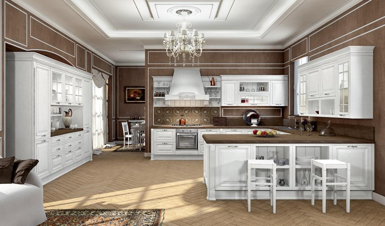 Classic Kitchen Arredo3 Viktoria Model 04 - 01