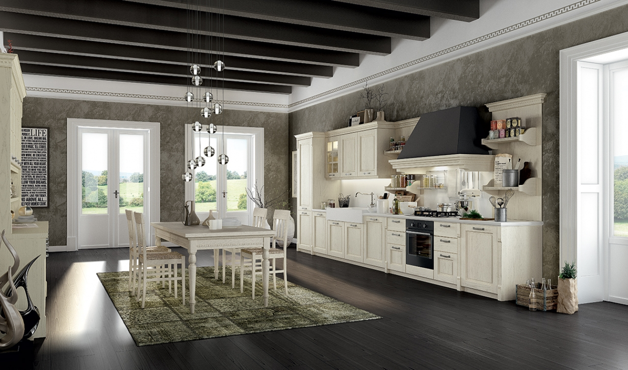 Classic Kitchen Arredo3 Virginia Model 03