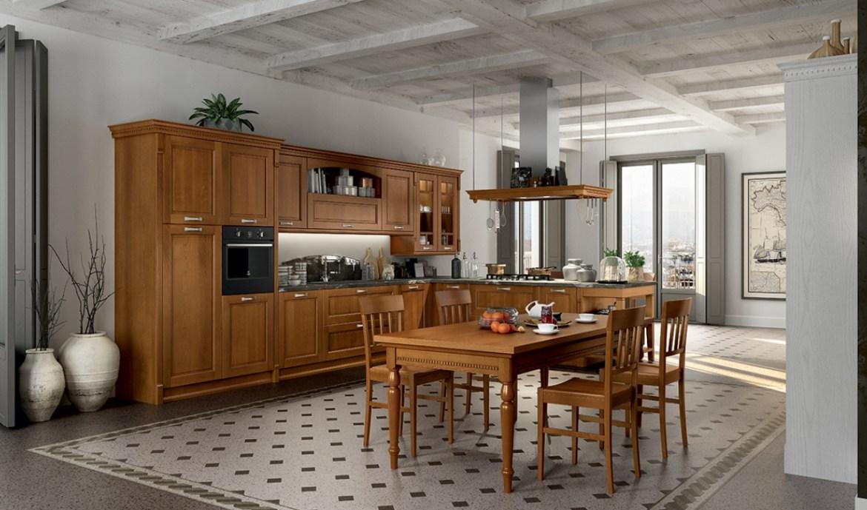 Classic Kitchen Arredo3 Virginia Model 04 - 01