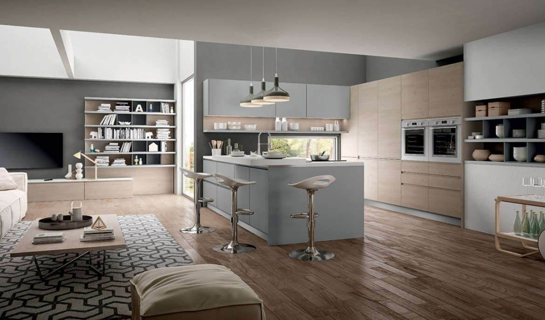 Modern Kitchen Arredo3 Wega Model 04 - 01