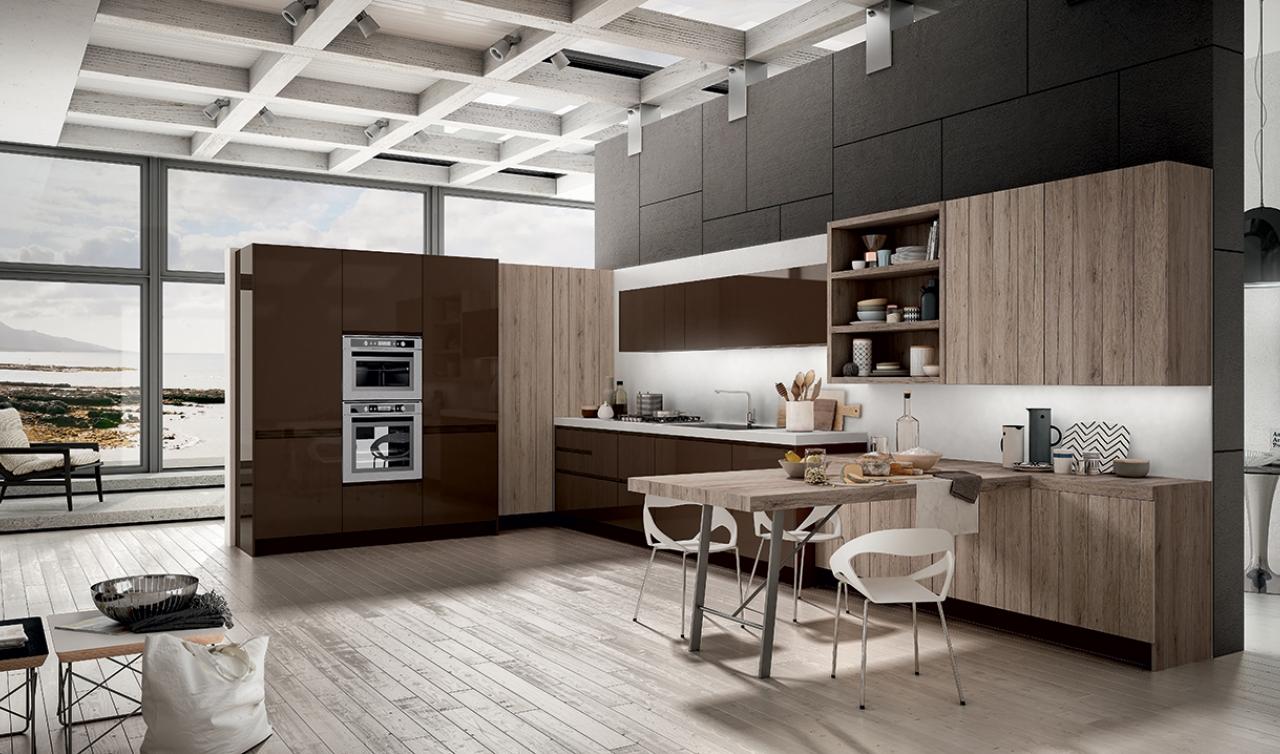 Modern Kitchen Arredo3 Wega Model 05