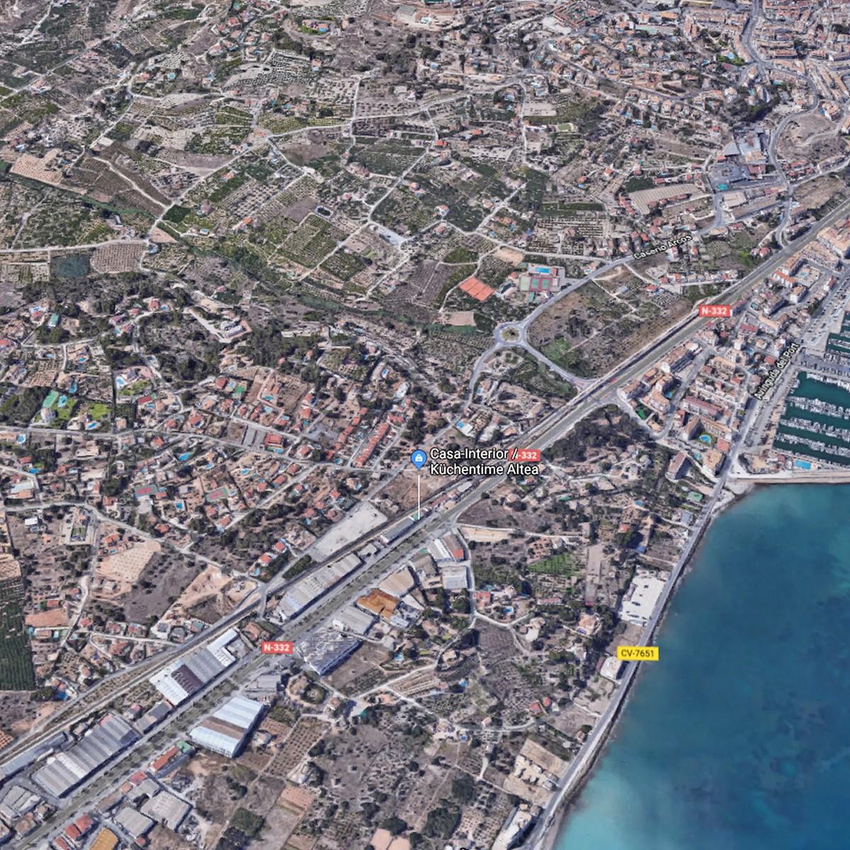 Casa Interior Situation map