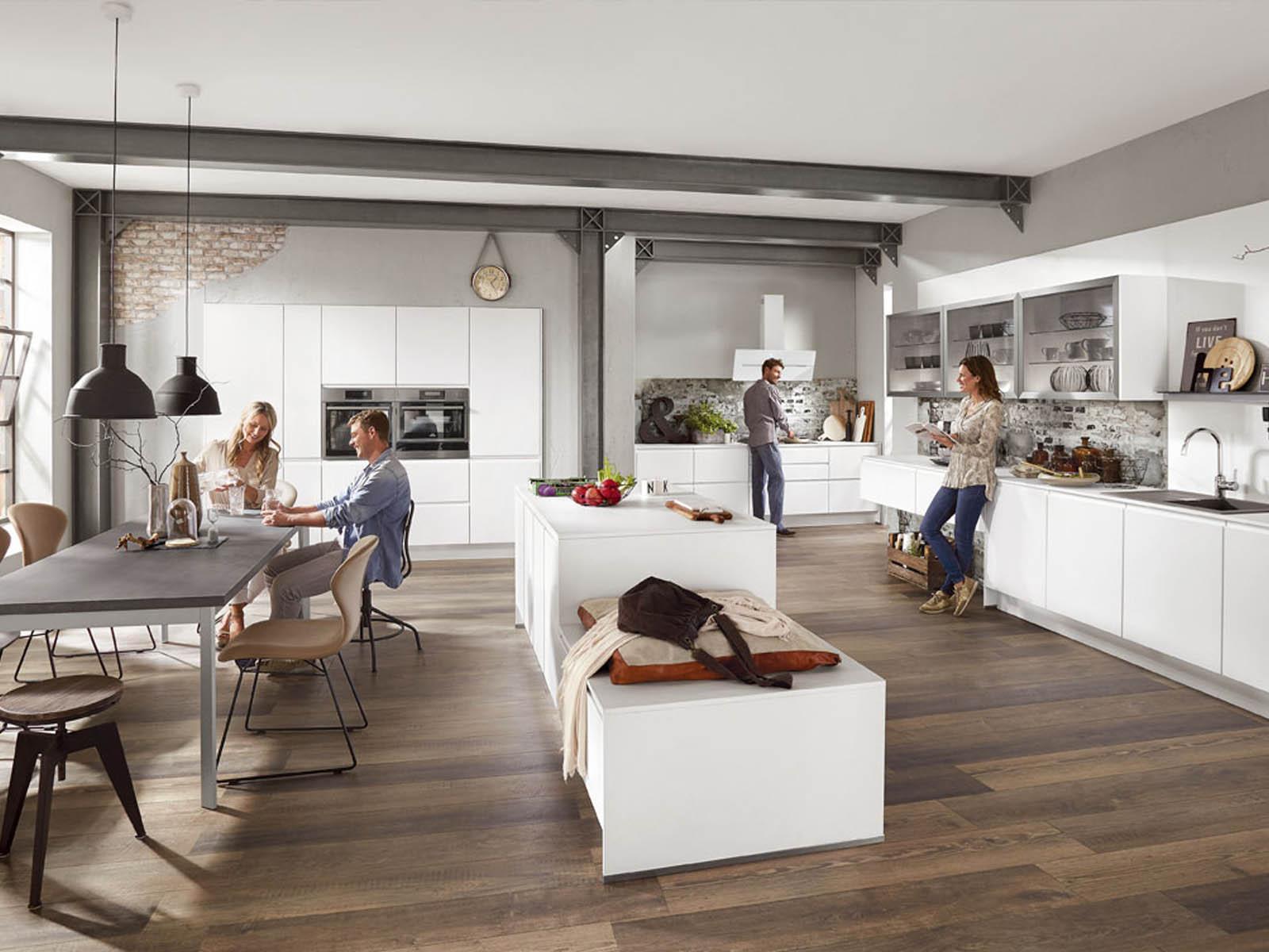 Modern Kitchen Küchentime Inline 551 Line N