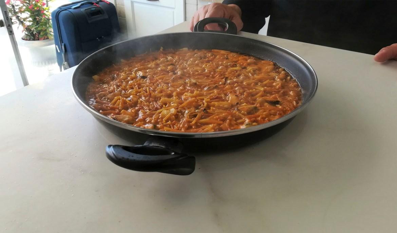 Cooking Rak en Casa Interior - Fideuá