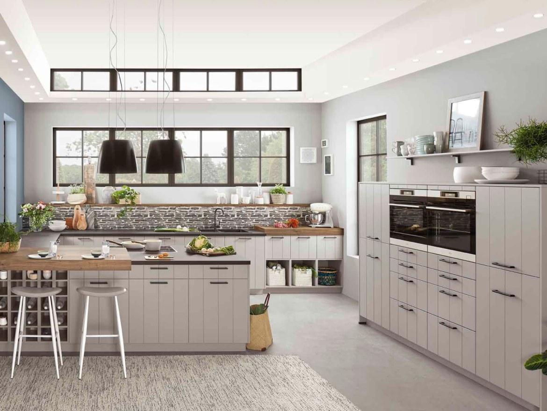 Modern Kitchen Küchentime Gent 741