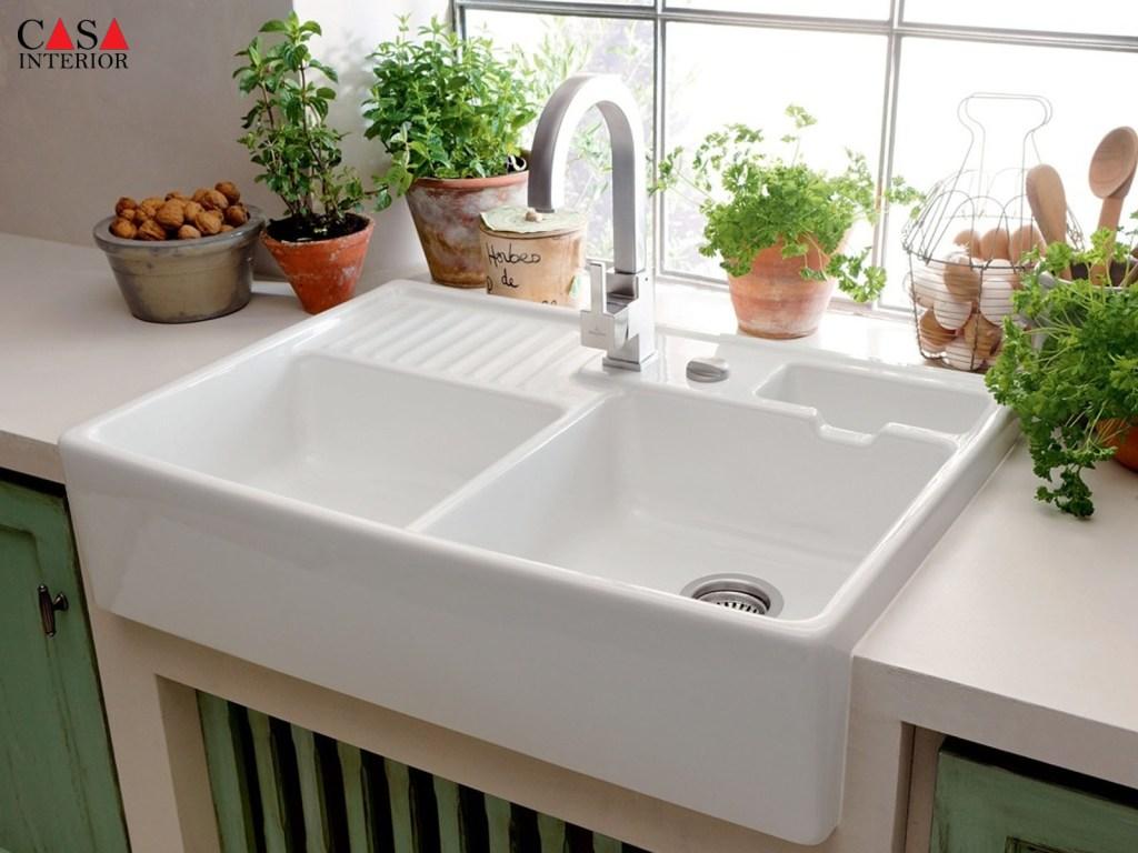 Casa Interior - Blanco Ceramic Sink