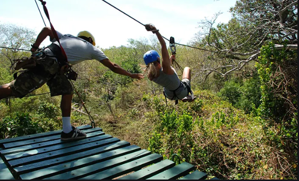 Activities Costa rica : zipline
