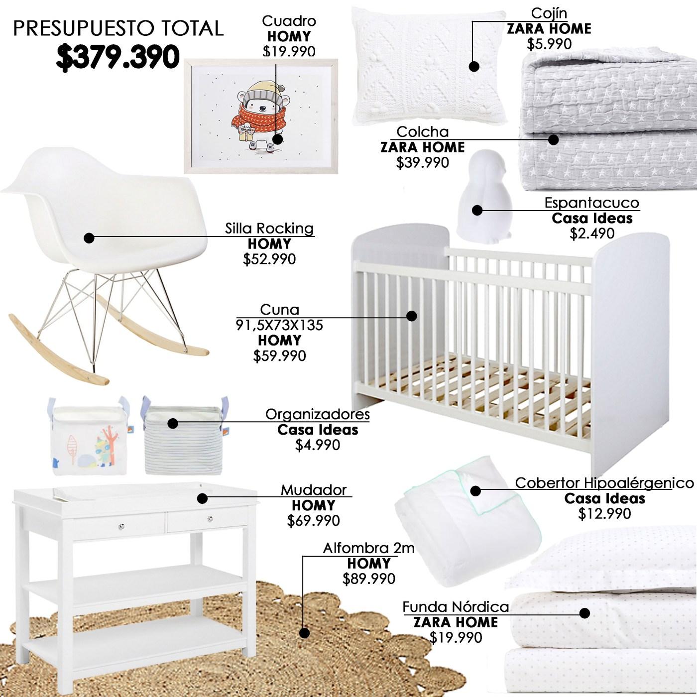 Dormitorio sin precios