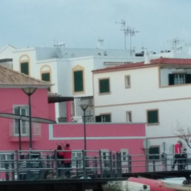The Casa Viana as seen from the lagoon