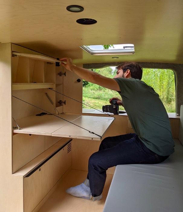 Designer transforma carro em casa para acampamentos 07 Vision Art NEWS