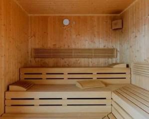 Construção de sauna