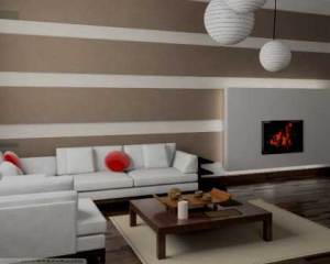 Papel de parede para remodelação