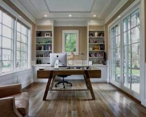 Remodelação de escritório em casa