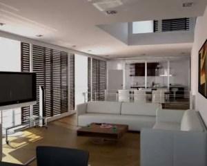 Remodelação de moradia sala de estar