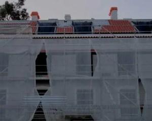Obras de reabilitação de edifício