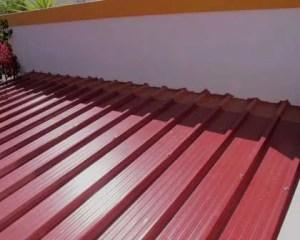 Recuperação de telhados impermeabilização