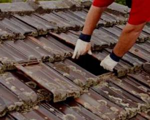 Recuperação de telhados telhas