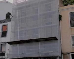 Trabalhos para reabilitação integral de edifício