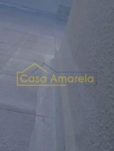 Detalhes infiltração de terraço