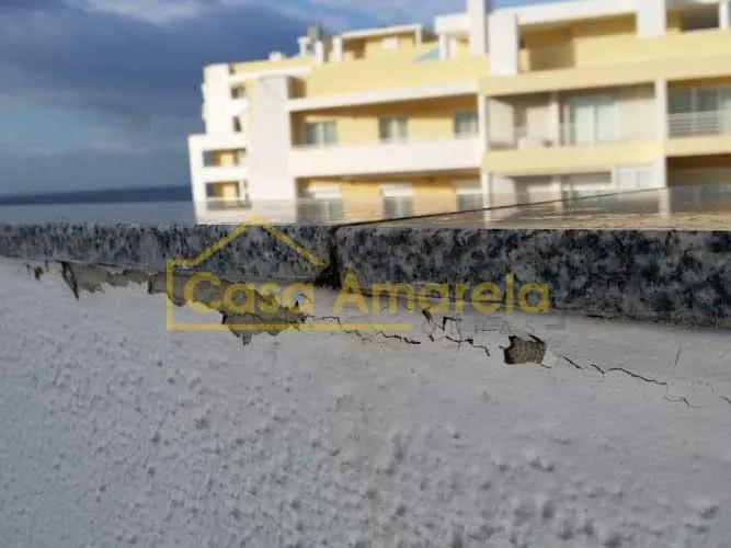 Fissura impermeabilização de terraço