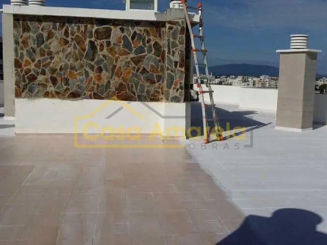 Impermeabilização de terraço em Portimão