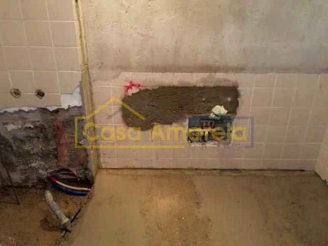 Obras de remodelação de casa de banho