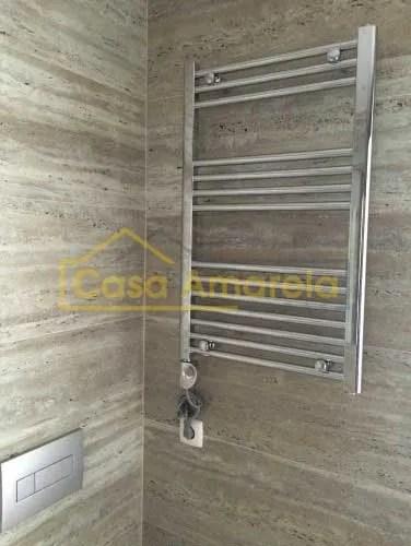 Remodelação de casa de banho aquecedor de toalhas