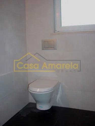 Remodelação de casa de banho sanita