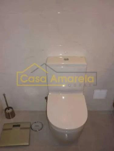 Remodelação de casa de banho sanita depois