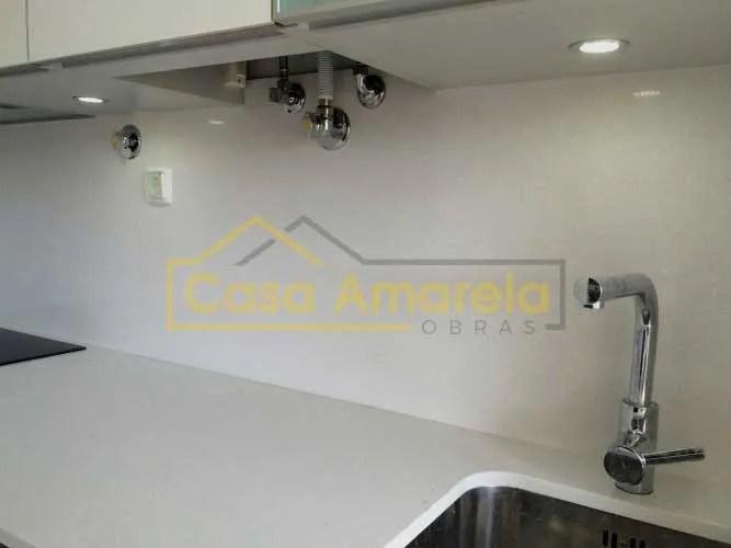 Remodelação de cozinha iluminação