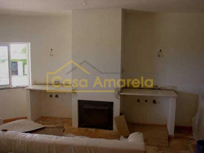 Remodelação de interiores com lareira
