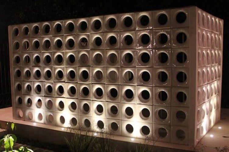 Cobogó Lua I Projeto e obra: Adriano Gronard