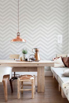 Parede Zigue-Zague - Casa Ao Cubo - Fonte: Pinterest - decordove.com