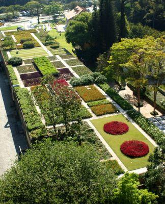 Jardim Suspendo de Roberto Burle Marx - Museu Hering, SC - museuhering.com.br
