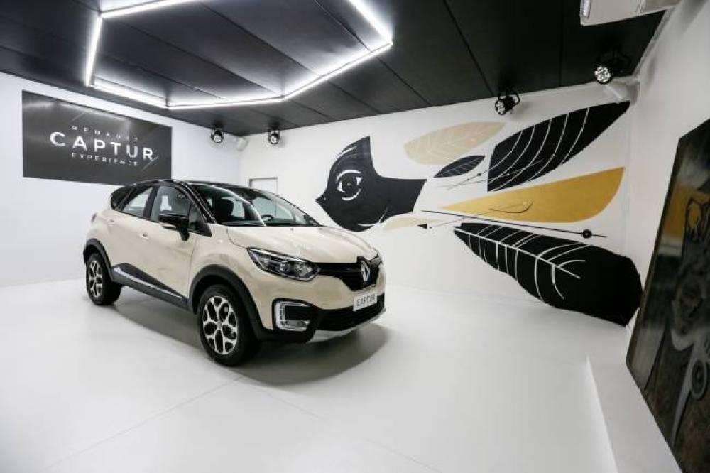 La Maison Renault. Túnel Secreto. Renault Captur, o novo SUV da Renault.